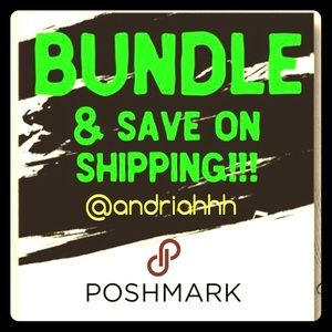 Other - BUNDLE & save on shipping!